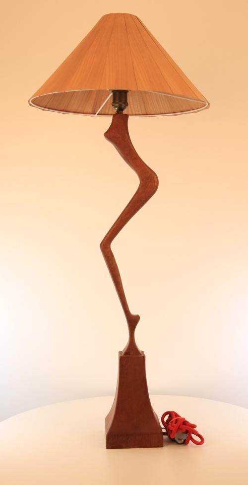 Diva Floor Lamp | Wooden Lamp | Meranti Modern Lamp
